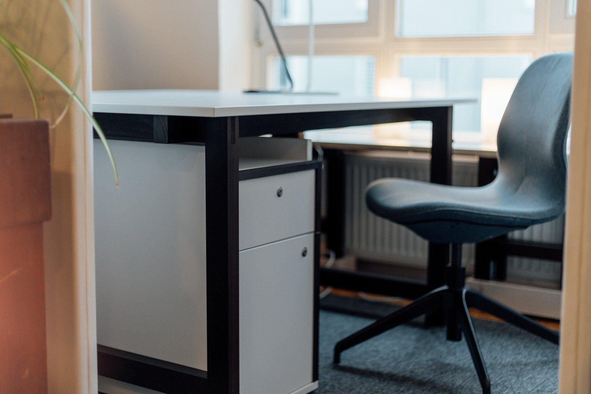 Fix Desk Arbeitsplatz