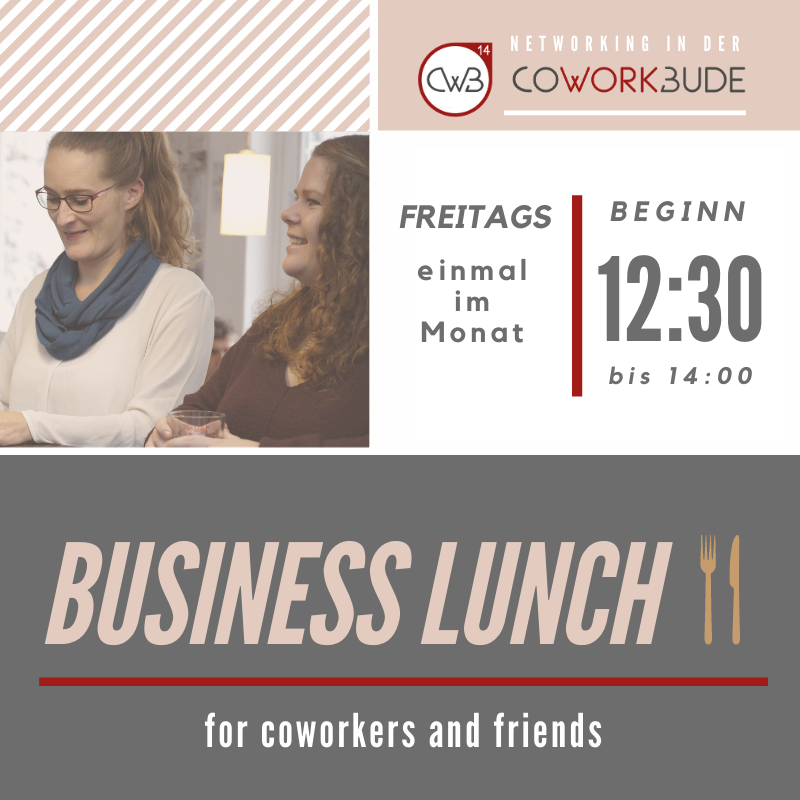 Business Lunch Flyer