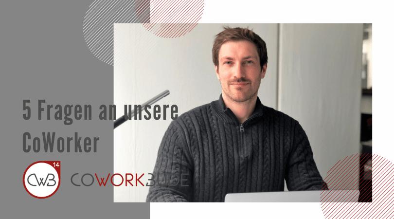 5 Fragen an unsere CoWorker – Marvin Gatermann