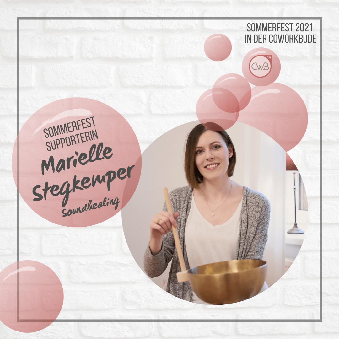 Sommerfest 2021 Marielle Stegkemper - Soundhealing