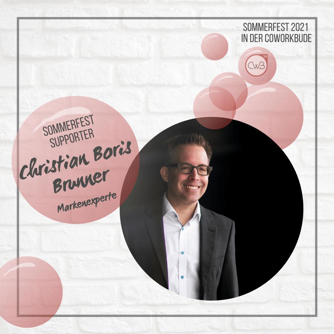 Sommerfest 2021 Christian Brunner - Markenexperte