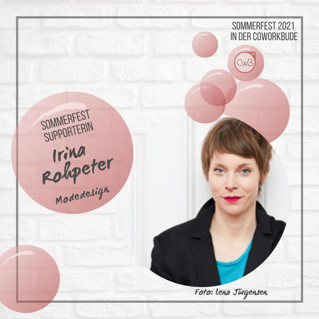 Sommerfest 2021 Irina Rohpeter - Modedesignerin
