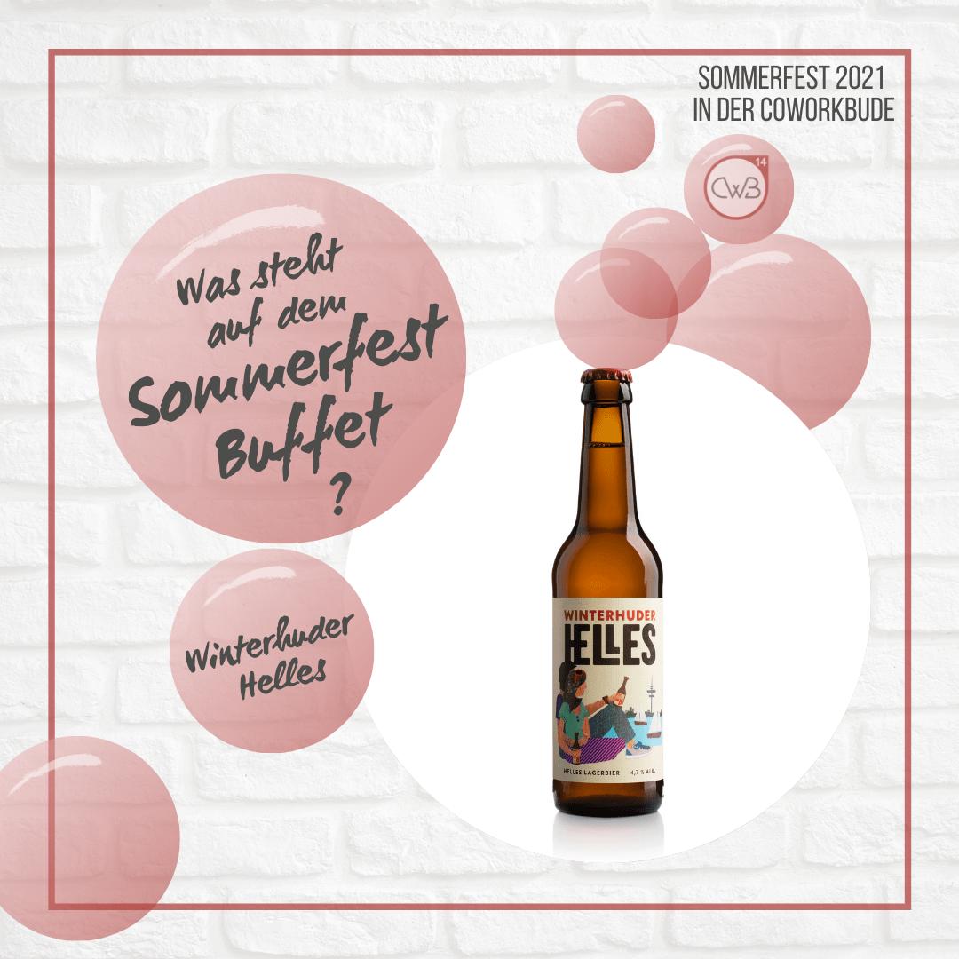 Sommerfest Buffet, Winterhuder Helles